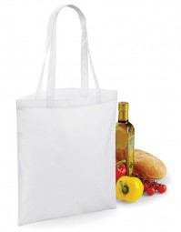 BG901 BagBase Sublimation Shopper - Wit