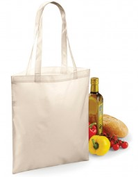 BG901 BagBase Sublimation Shopper - Naturel