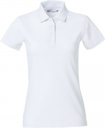 02826100 Heavy Premium Polo - wit