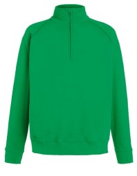 621580-47 FOTL Lightweight Zip Neck Sweat