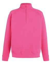 621580-57 FOTL Lightweight Zip Neck Sweat