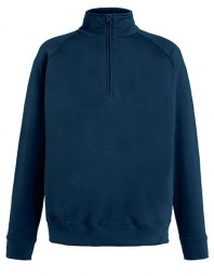 621580-AZ FOTL Lightweight Zip Neck Sweat