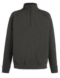 621580-GL FOTL Lightweight Zip Neck Sweat