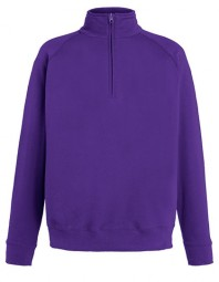 621580-PE FOTL Lightweight Zip Neck Sweat