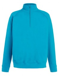 621580-ZU FOTL Lightweight Zip Neck Sweat