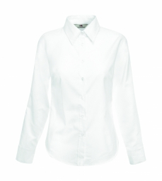 FOTL Lady-Fit Oxford Shirt met LM 30