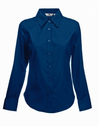 FOTL Lady-Fit Oxford Shirt met LM 32