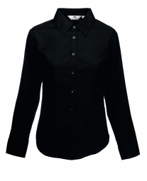 FOTL Lady-Fit Oxford Shirt met LM 36
