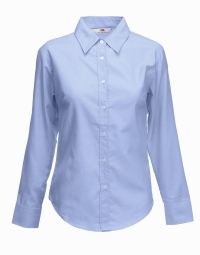 FOTL Lady-Fit Oxford Shirt met LM OD