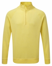 Russell HD sweater met 1/4 rits