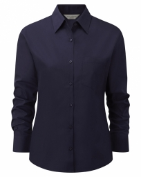 Russell Poplin Shirt Easy Care met LM