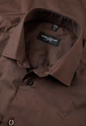 Russell Poplin Stretch Shirt Easy Care met LM