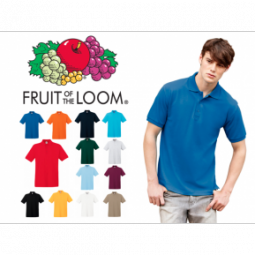 Fruit of the Loom Polo (3 stuks)