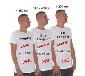 Logo Star Long Fit t-shirts (12 stuks)