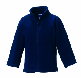Russell Outdoor Fleece met rits