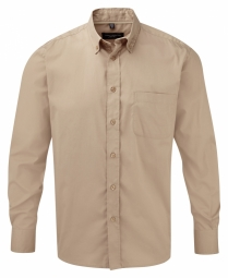 Russell Classic Twill Shirt met LM