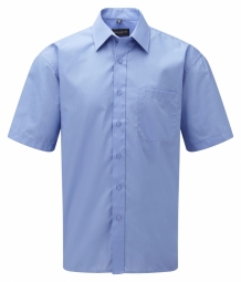 Russell Poplin Shirt Easy Care