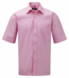 Russell Poplin Shirt Pure Cotton Easy Care