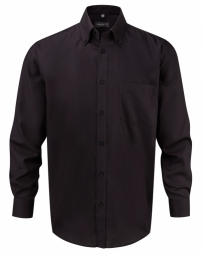 Russell Micro Twill Ultimate Non-Iron Shirt met LM