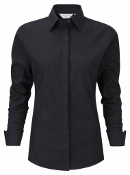Russell Ultimate Stretch Shirt met LM