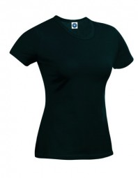 Starworld Ladies Hefty Tee SW434 zwart
