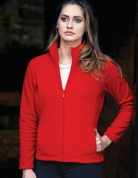 Starworld Ladies Full Zip Fleece Jacket SW750