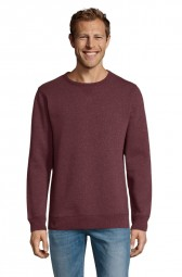 Sol's 02990 Sully sweatshirt 148 heather oxblood