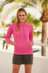 621480 FOTL Lady-Fit Lightweight Hooded Sweat
