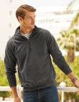 621580 FOTL Lightweight Zip Neck Sweat