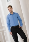 Russell Poplin Shirt met LM tailored