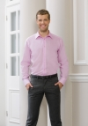 Russell Micro Twill Ultimate Non-Iron Shirt met LM tailored