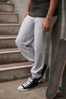 JH072 College Cuffed Jogpants